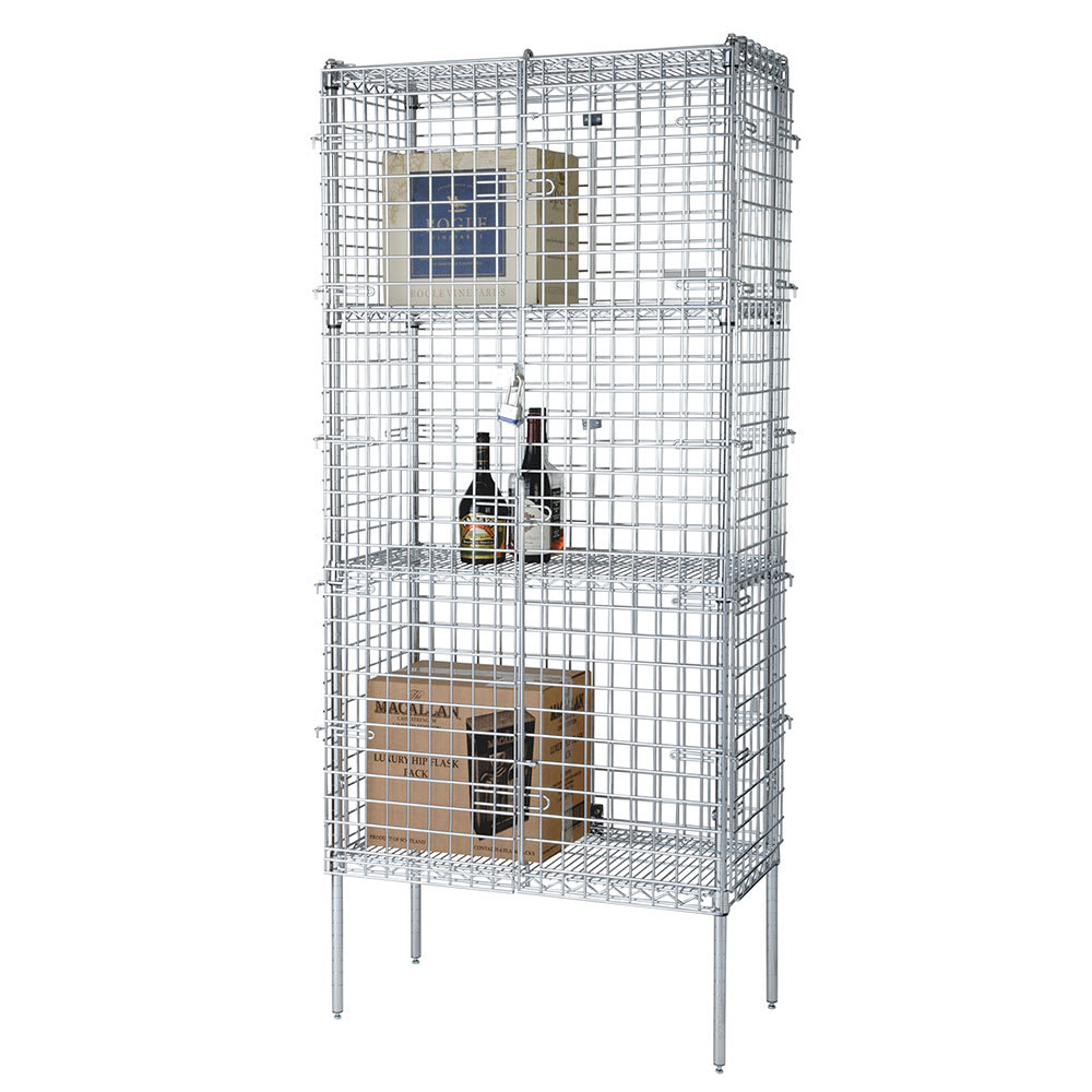 "Focus FSSEC24364 36"" Stationary Security Cage, 24""D"