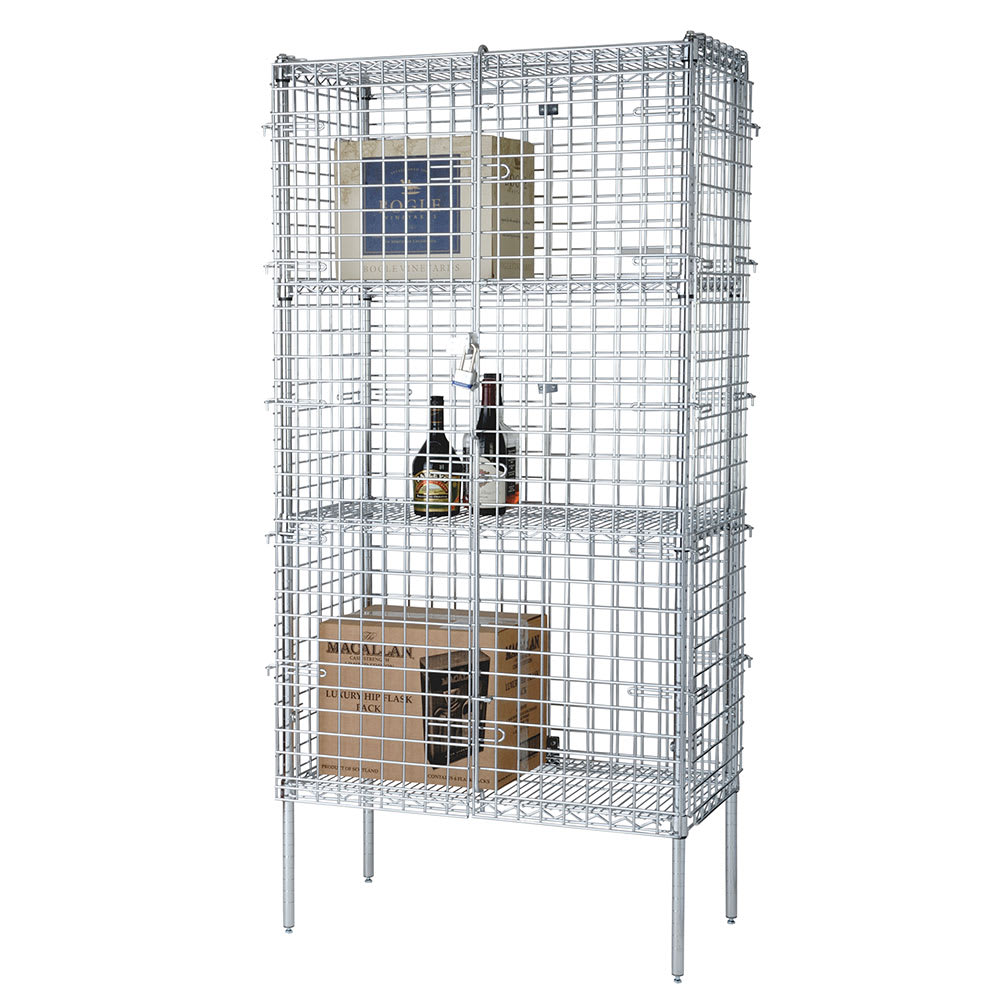"""Focus FSSEC2448 48"""" Stationary Security Cage, 24""""D"""