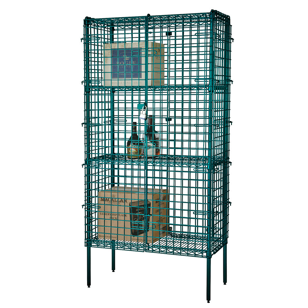 "Focus FSSEC24483GN 48"" Stationary Security Cage, 24""D"