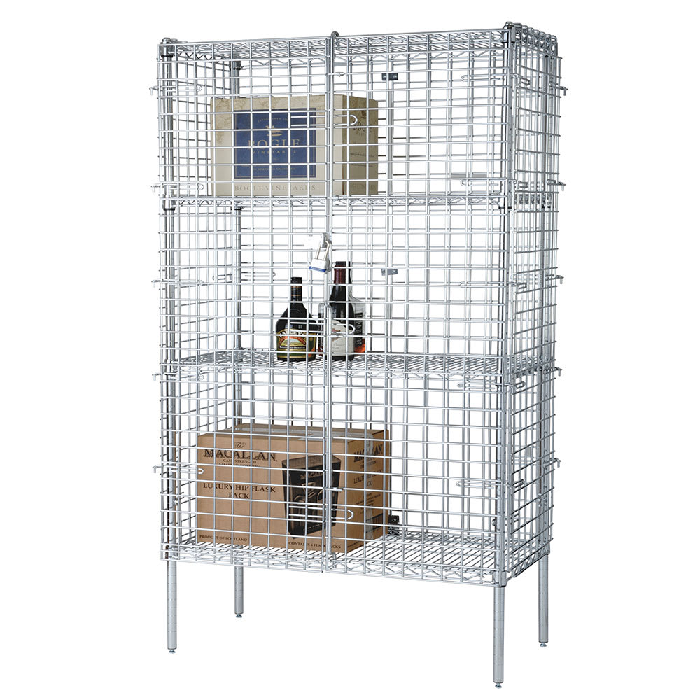 "Focus FSSEC24604 60"" Stationary Security Cage, 24""D"
