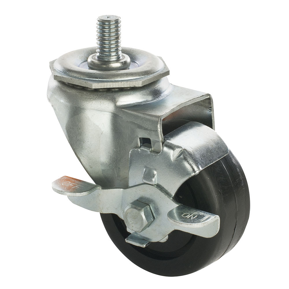 "Focus FTC34105HD 5"" Stem Caster w/ Brake"