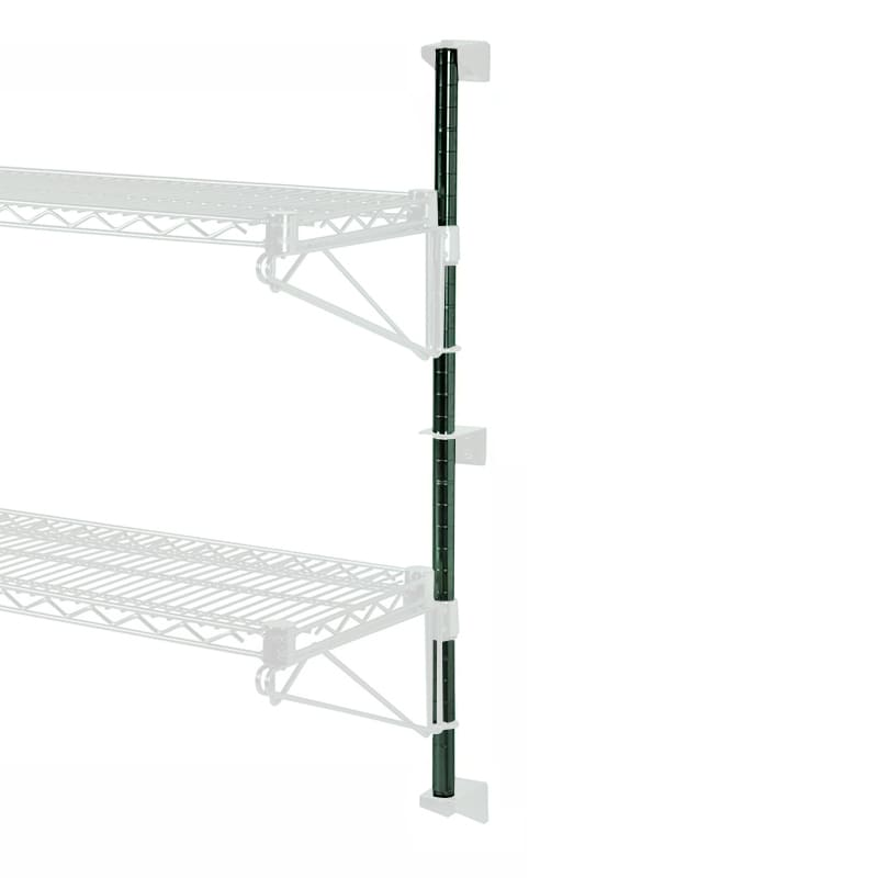 "Focus FWPS24GN 24""H Wall Mounted Shelving Post w/ Mounting Hardware"