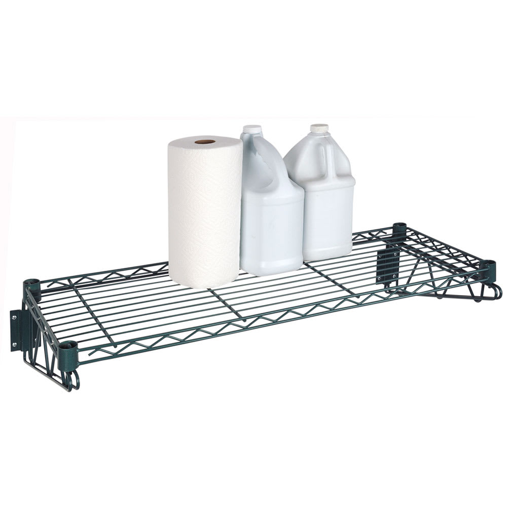 "Focus FWS1836GN 36"" Wire Wall Mounted Shelving"