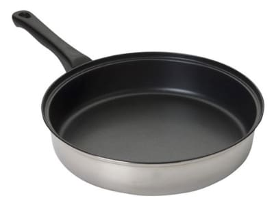 "Focus KPWB9040NS 10"" Non-Stick Steel Frying Pan w/ Solid Plastic Handle"
