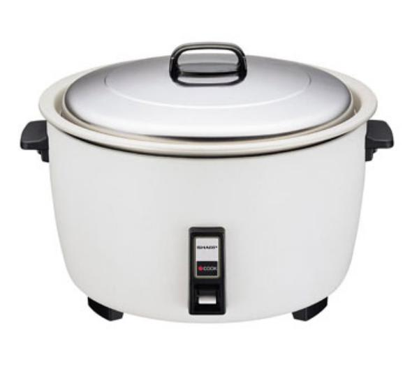 Sharp KSH777DW Rice Cooker, Electric, 1700 Watts, Thermostatic Control, Auto Cook