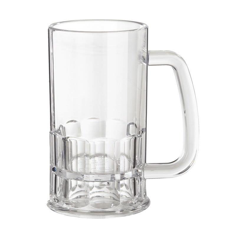 GET 00084-1-TRITAN 12 oz Beer Mug - Plastic, Clear