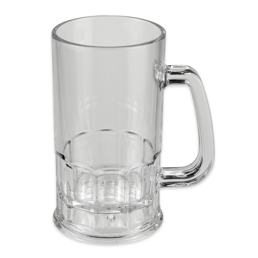 GET 00085-PC-CL 20-oz Beer Mug, Polycarbonate, Clear