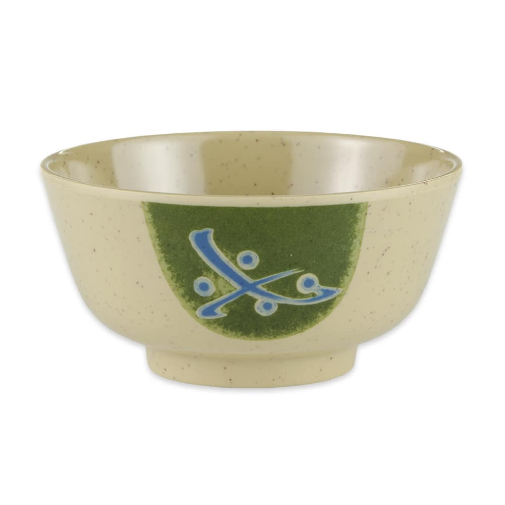 "GET 0172-TD 4.5"" Round Japanese Soup Rice Bowl w/ 12 oz Capacity, Melamine"