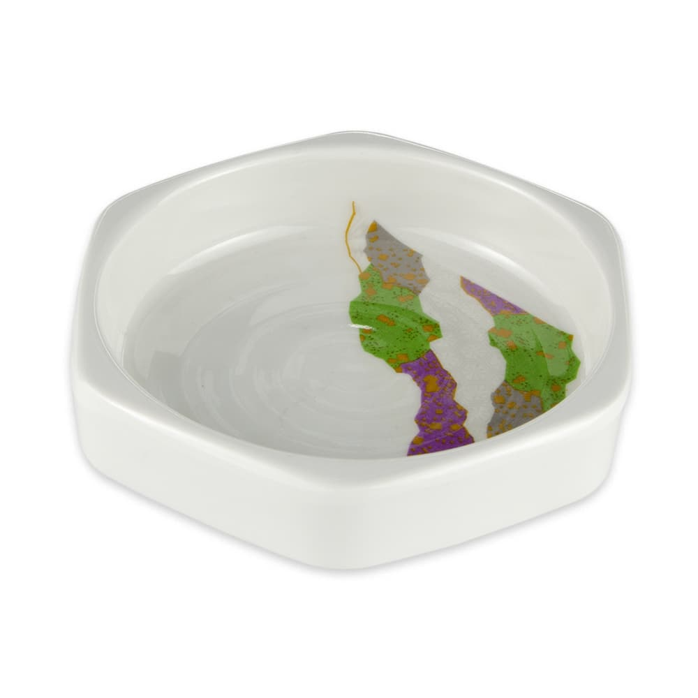 "GET 038-CO 4"" Round Relish Dish w/ 3-oz Capacity, Melamine"