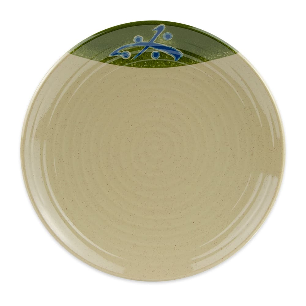 """GET 207-10-TD 10.5"""" Round Plate, Melamine"""