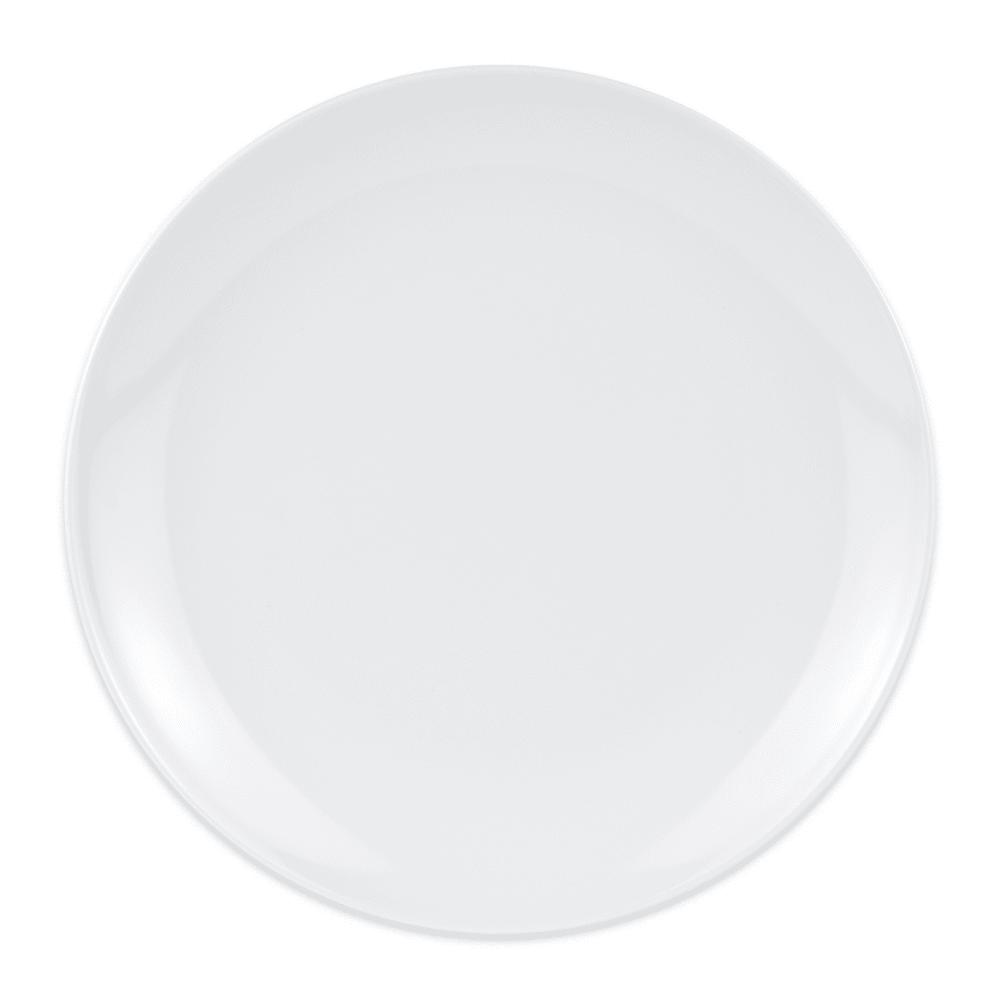 """GET 207-5-W 10.5"""" Round Plate, Melamine"""