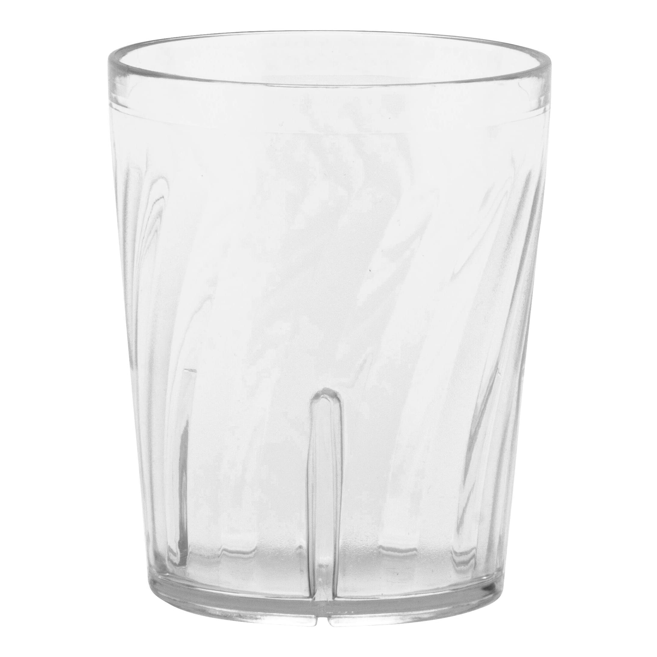 GET 2206-1-CL 6 oz Juice Tumbler, Plastic, Clear