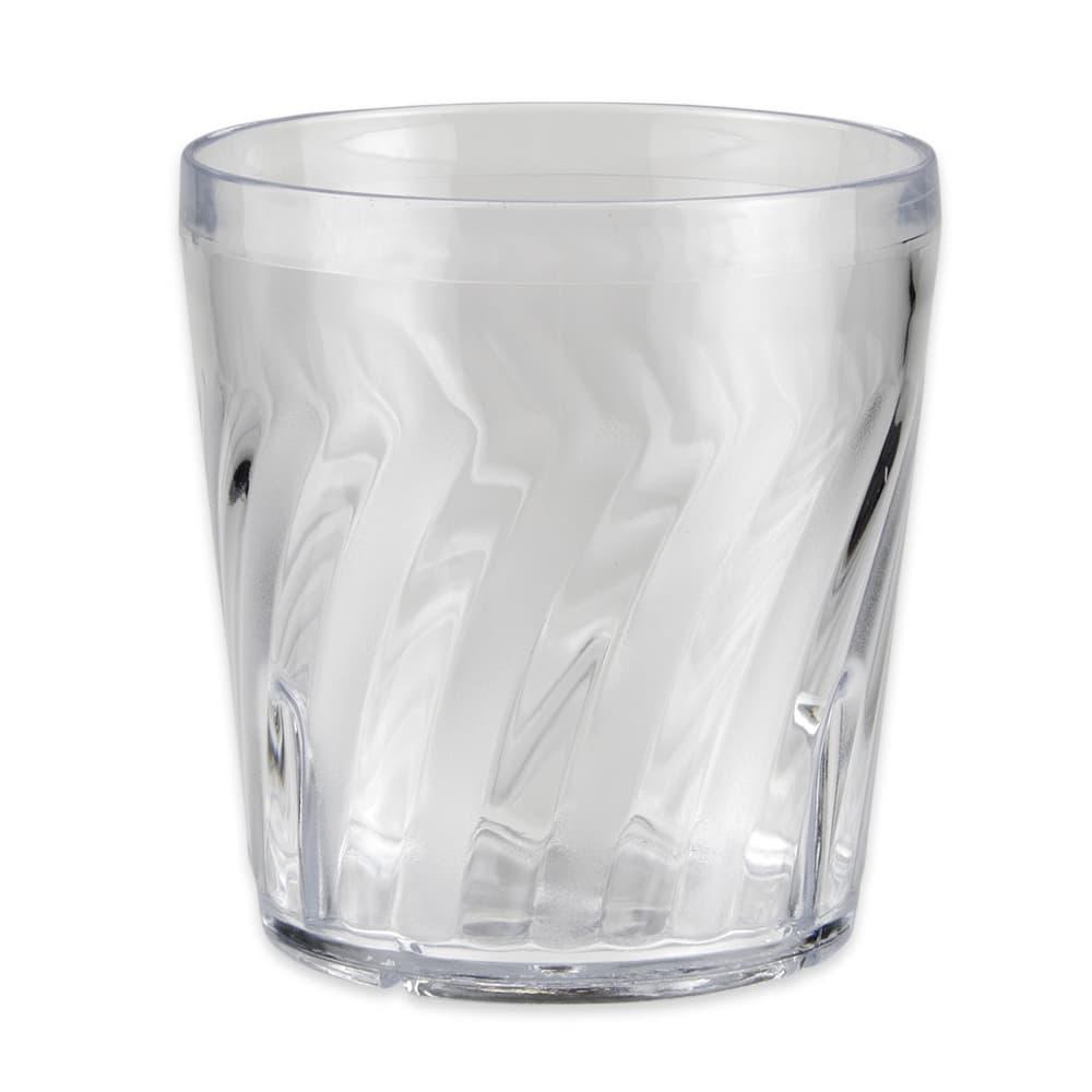 GET 2209-1-CL 9-oz Rocks Tumler, Plastic, Clear