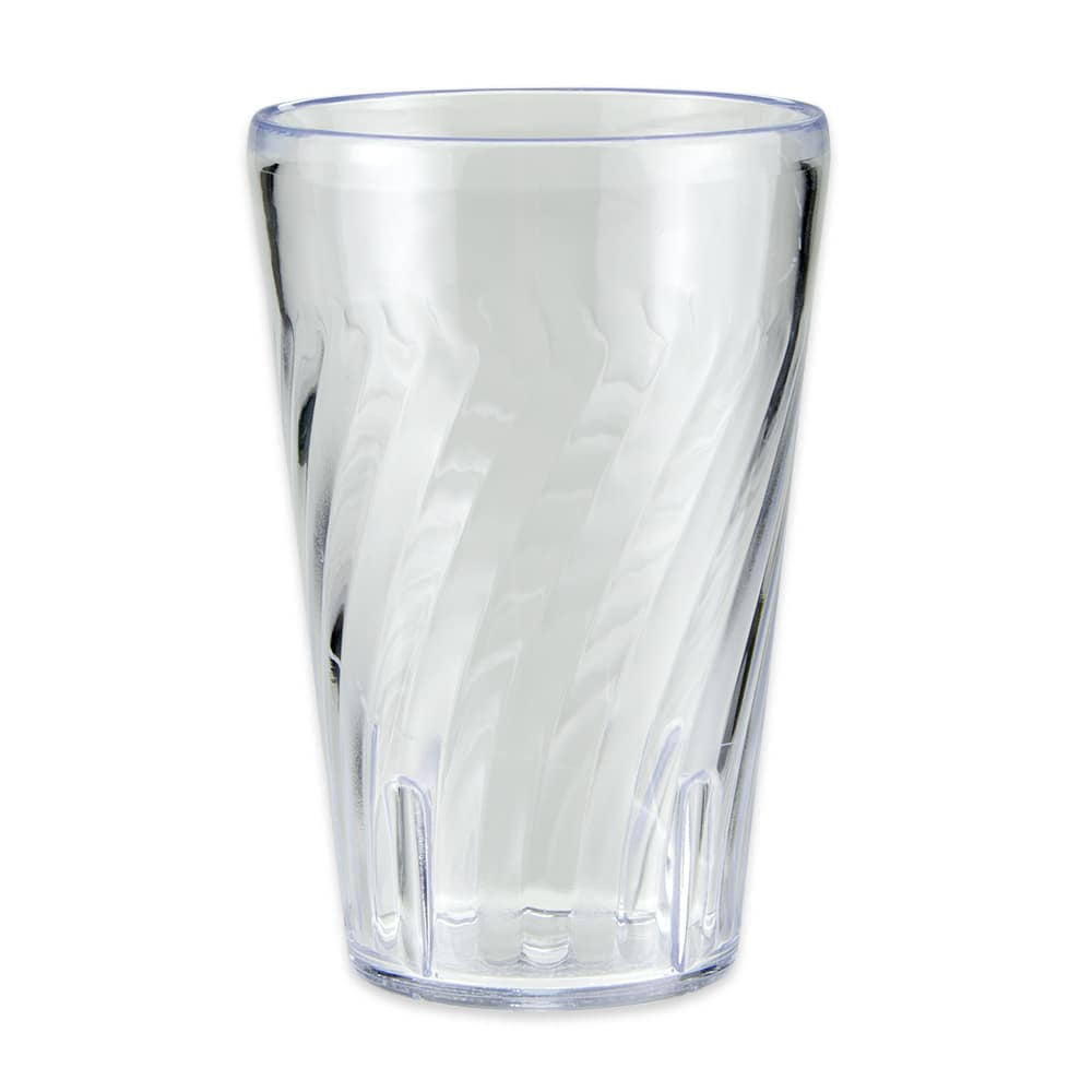 GET 2212-1-CL 12-oz Beverage Tumbler, Plastic, Clear