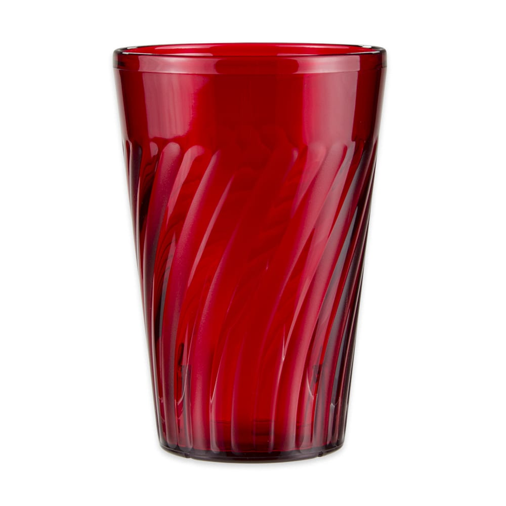 GET 2220-1-R 20-oz Beverage Tumbler, Plastic, Red