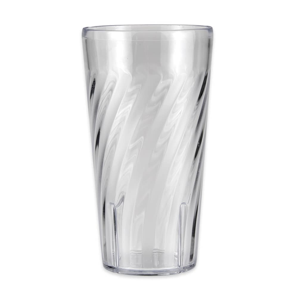 GET 2221-1-CL 20 oz Beverage Tumbler, Plastic, Clear