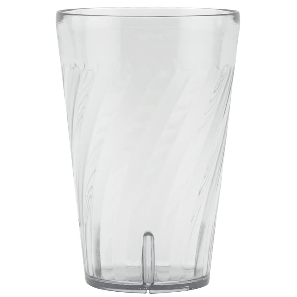 GET 2224-1-CL 24 oz Beverage Tumbler, Plastic, Clear