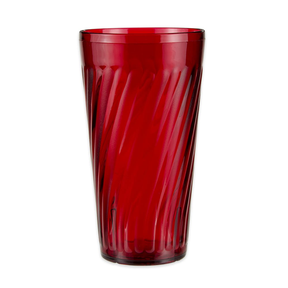 GET 2232-1-R 32-oz Beverage Tumbler, Plastic, Red