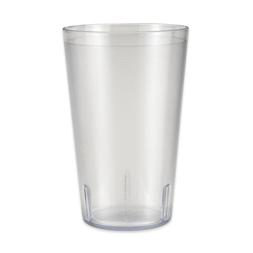 GET 5032-1-4-CL 32 oz Beverage Tumbler, Plastic, Clear