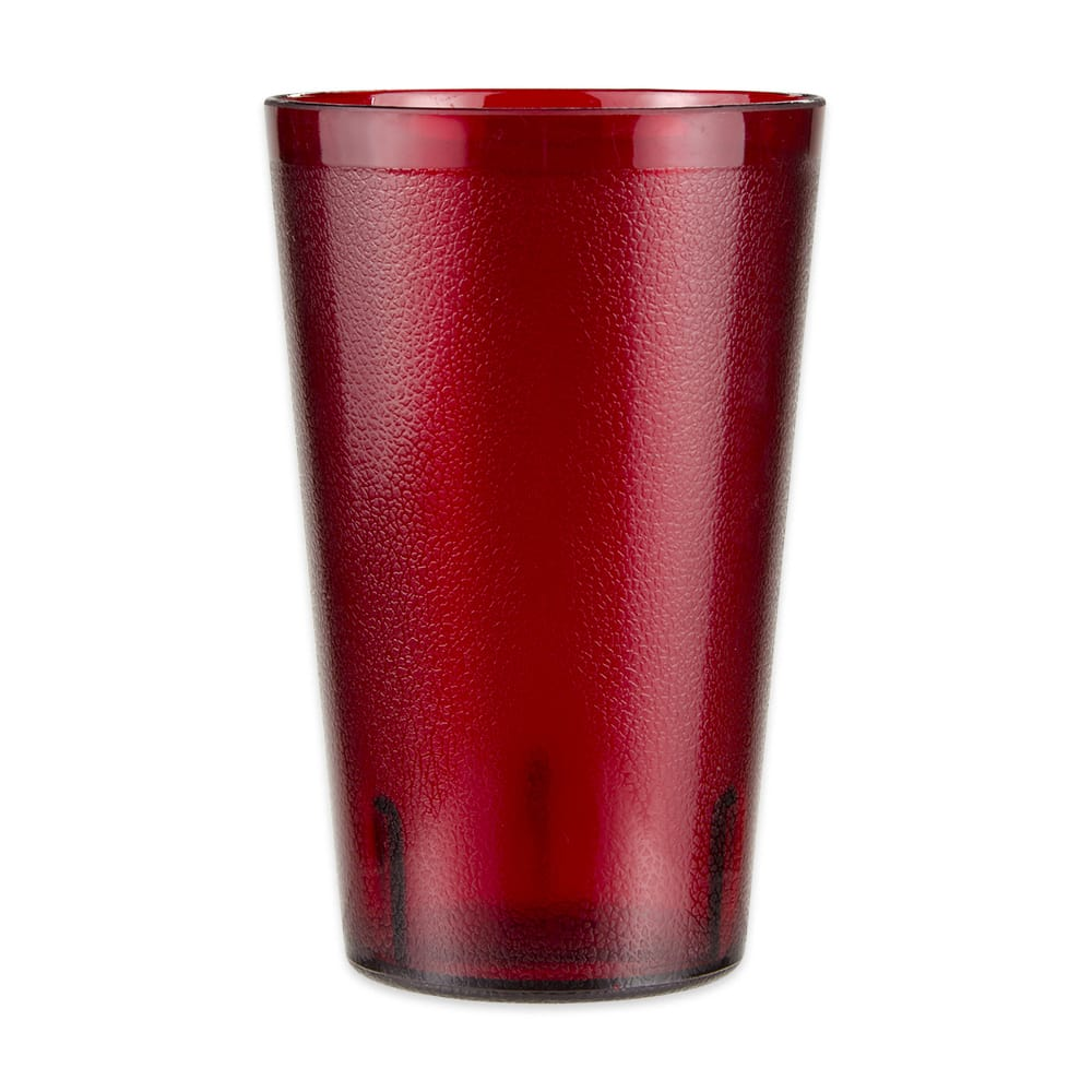 GET 5032-1-4-R 32-oz Beverage Tumbler, Plastic, Red