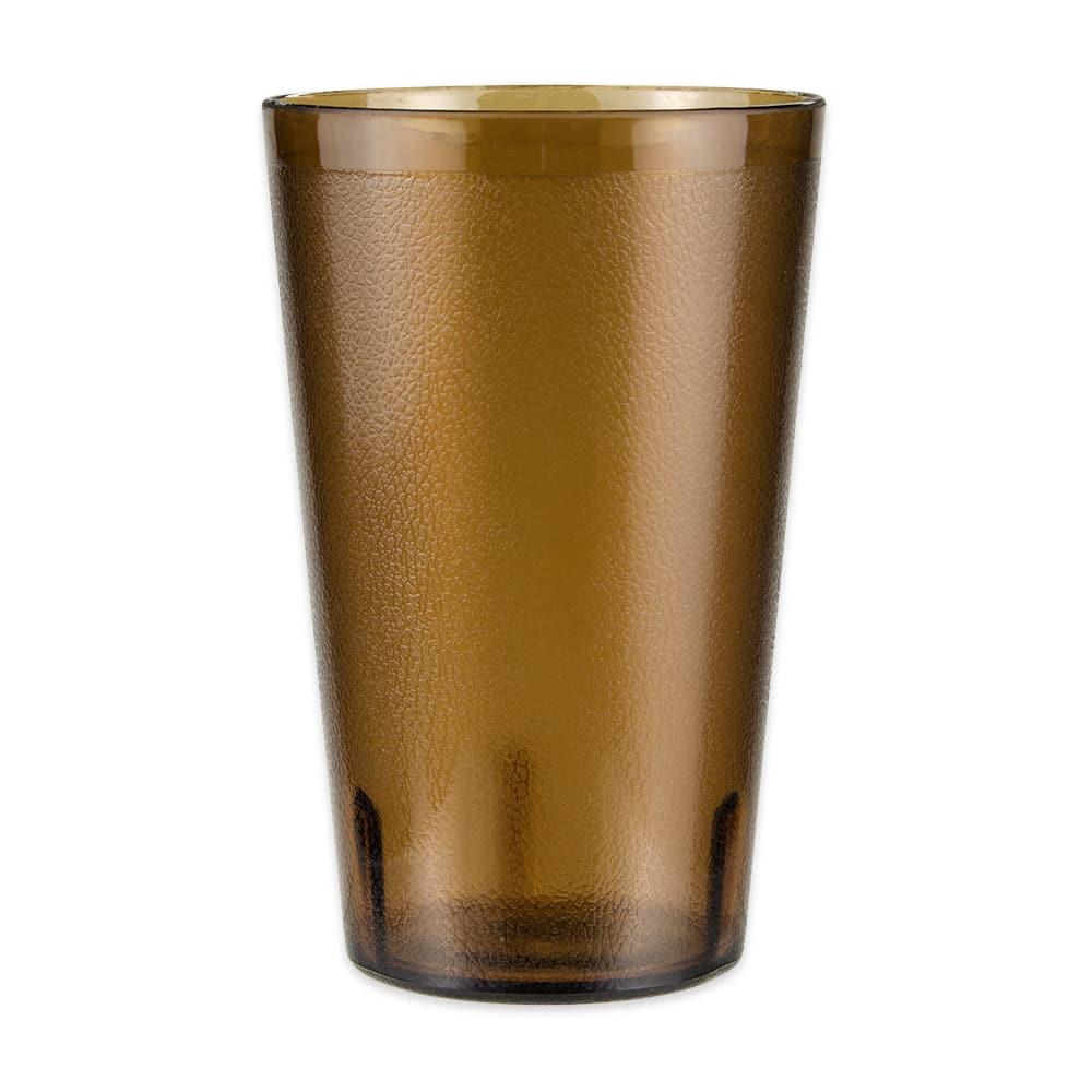 GET 5032-1-4-A 32-oz Beverage Tumbler, Plastic, Amber