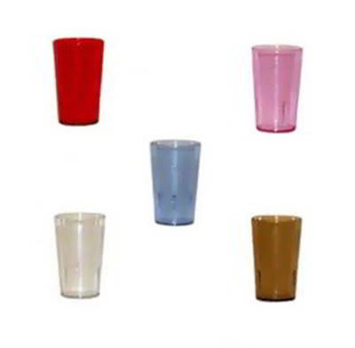 GET 6605-2-CL 5 oz Tumbler, Textured, Stackable, Clear
