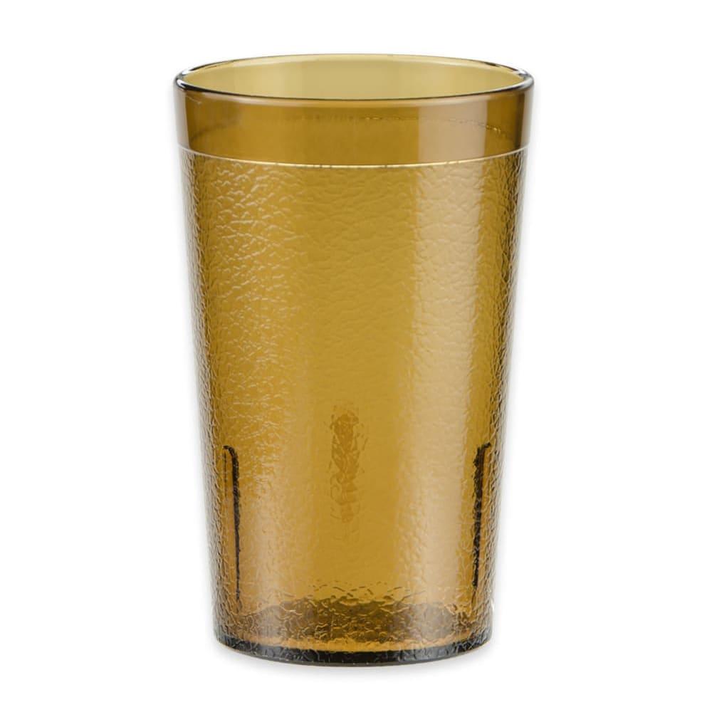 GET 6605-1-6-A 5-oz Beverage Tumbler, Plastic, Amber