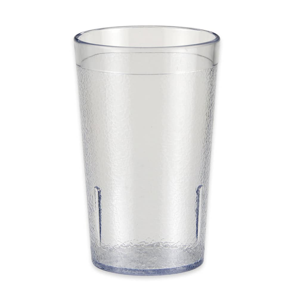 GET 6605-1-6-CL 5 oz Beverage Tumbler, Plastic, Clear