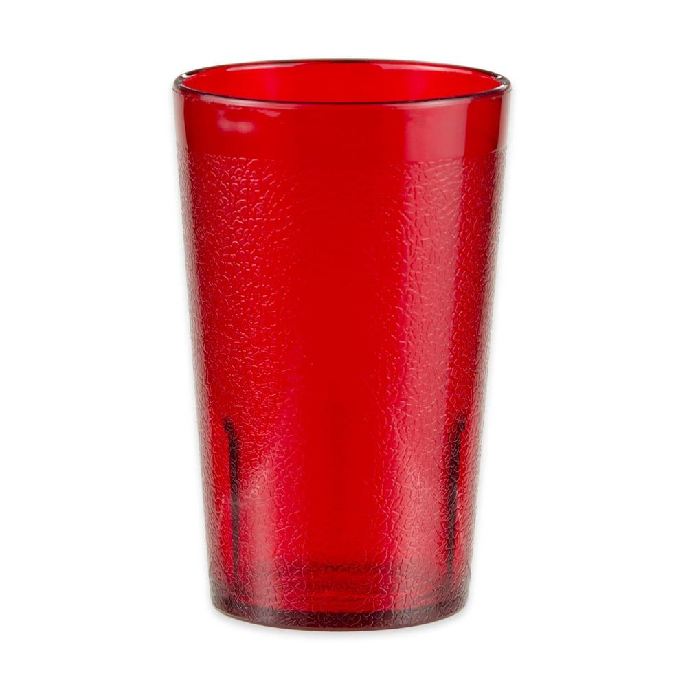 GET 6605-1-6-R 5 oz Beverage Tumbler, Plastic, Red