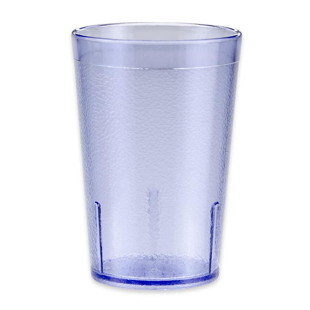 GET 6608-1-6-BL 8-oz Beverage Tumbler, Plastic, Blue