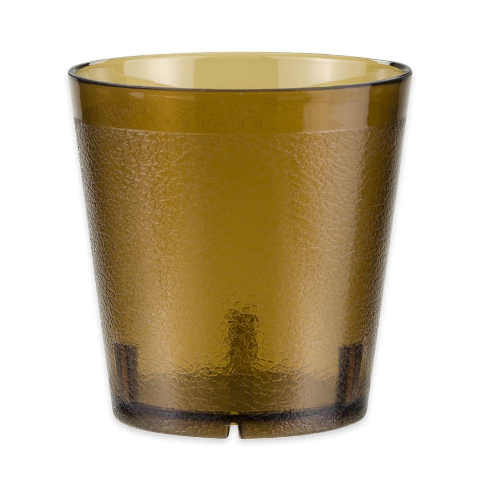 GET 6609-1-6-A 9 oz Beverage Tumbler, Plastic, Amber