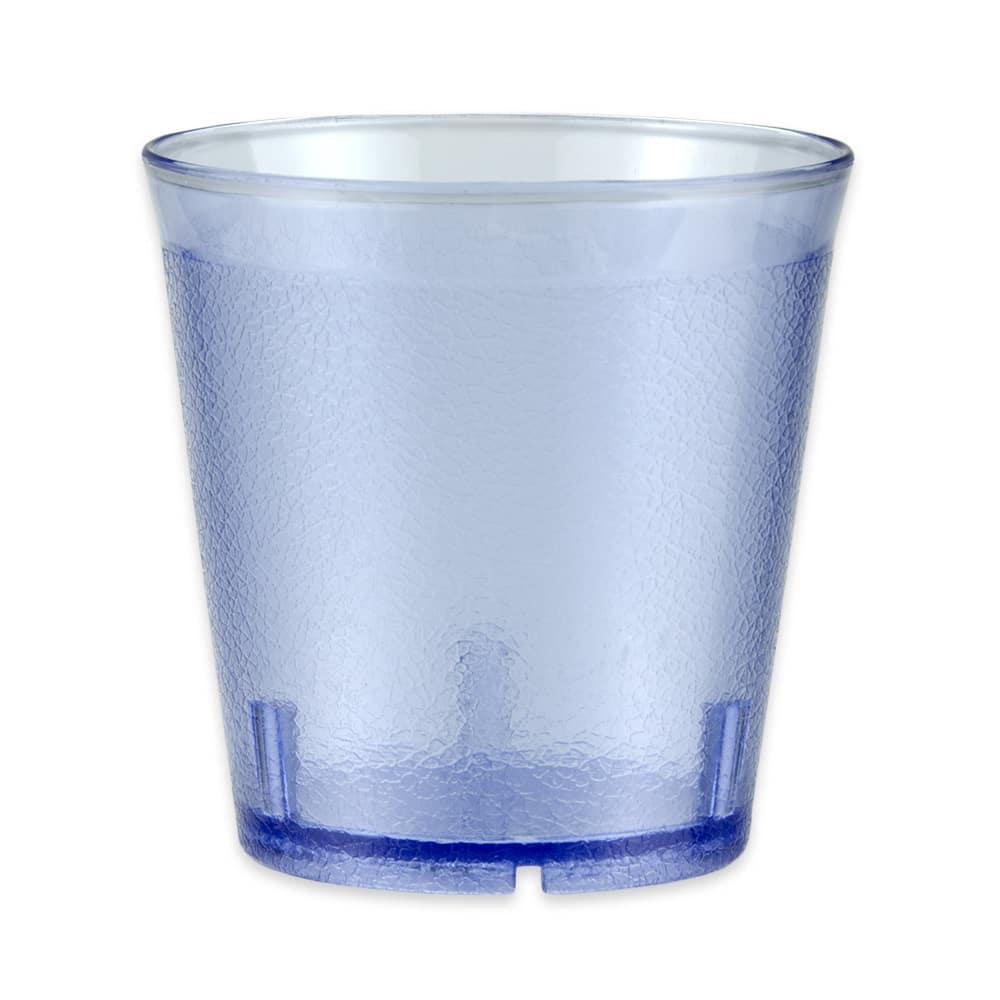 GET 6609-6-BLU 9-oz Beverage Tumbler, Plastic, Blue