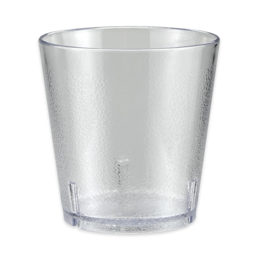 GET 6609-1-6-CL 9-oz Beverage Tumbler, Plastic, Clear