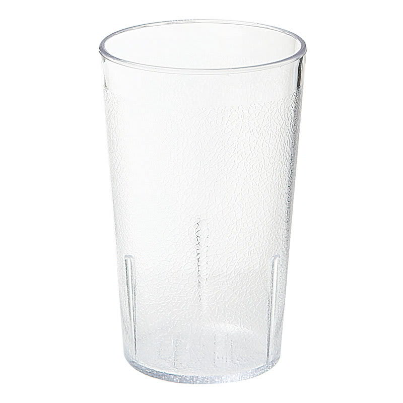 GET 6612-1-2-CL 12-oz Beverage Tumbler, Plastic, Clear