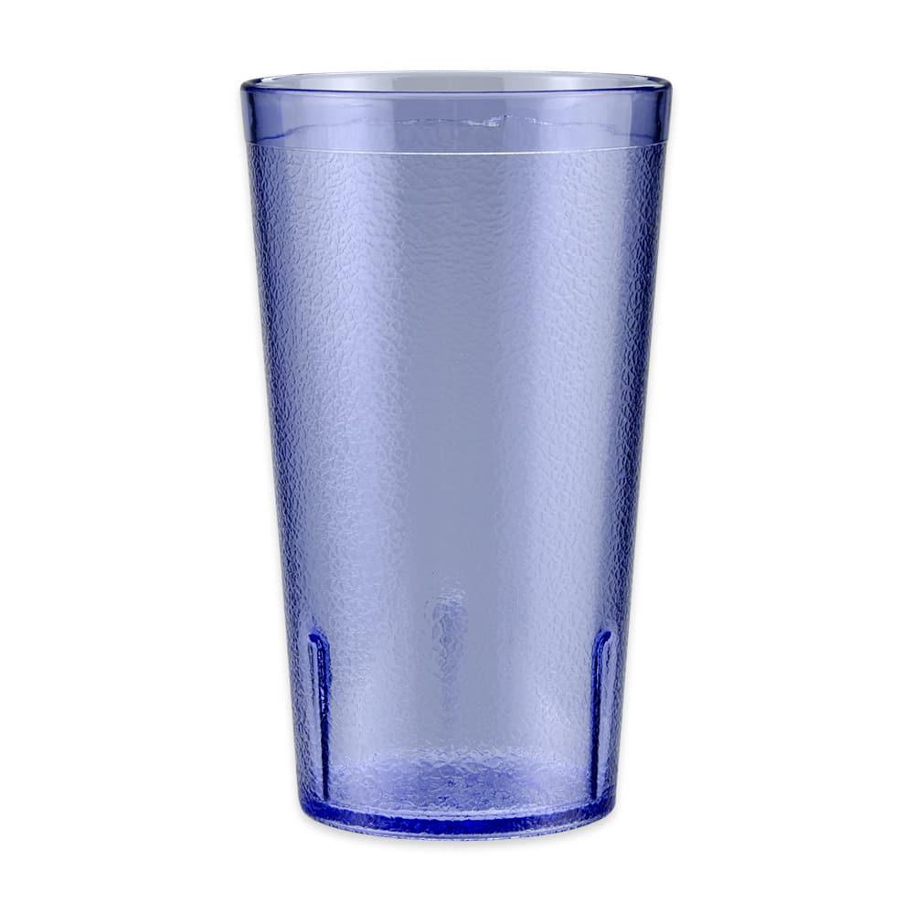 GET 6612-1-6-BL 12 oz Beverage Tumbler, Plastic, Blue