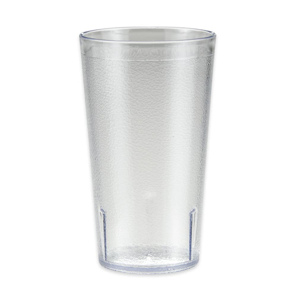 GET 6612-1-6-CL 12-oz Beverage Tumbler, Plastic, Clear