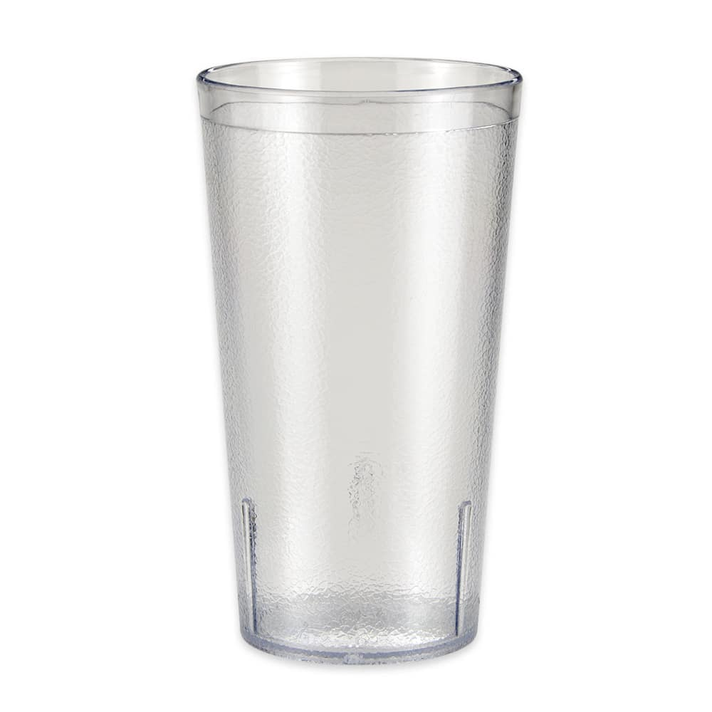 GET 6616-1-6-CL 16 oz Beverage Tumbler, Plastic, Clear