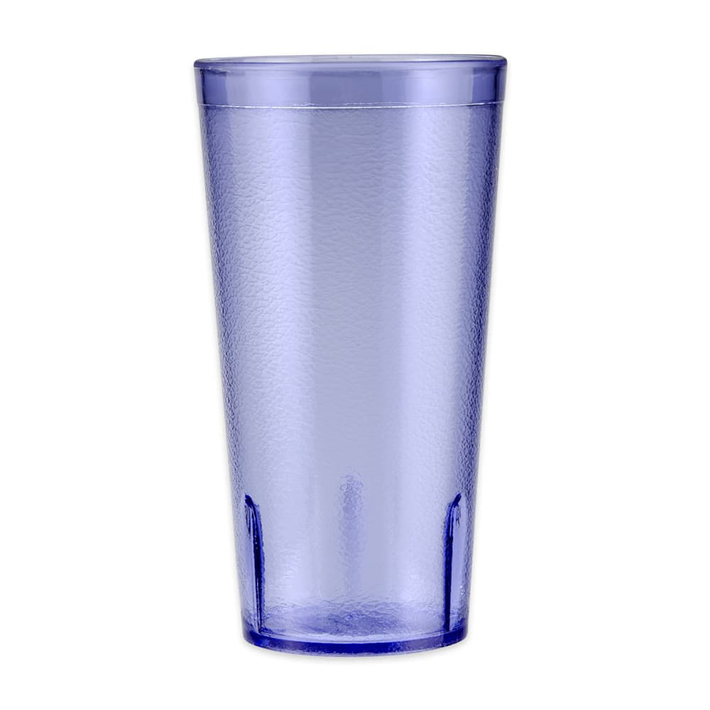 GET 6620-1-6-BL 20-oz Beverage Tumbler, Plastic, Blue