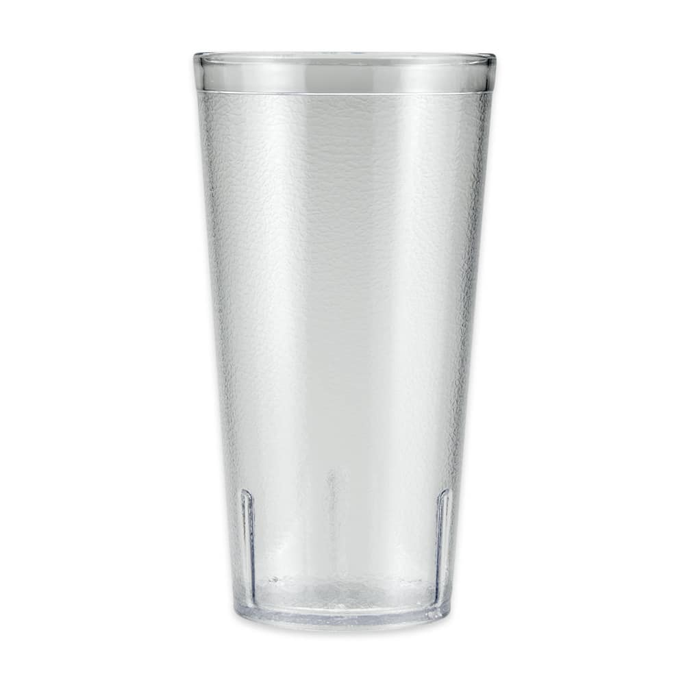 GET 6620-1-6-CL 20 oz Beverage Tumbler, Plastic, Clear
