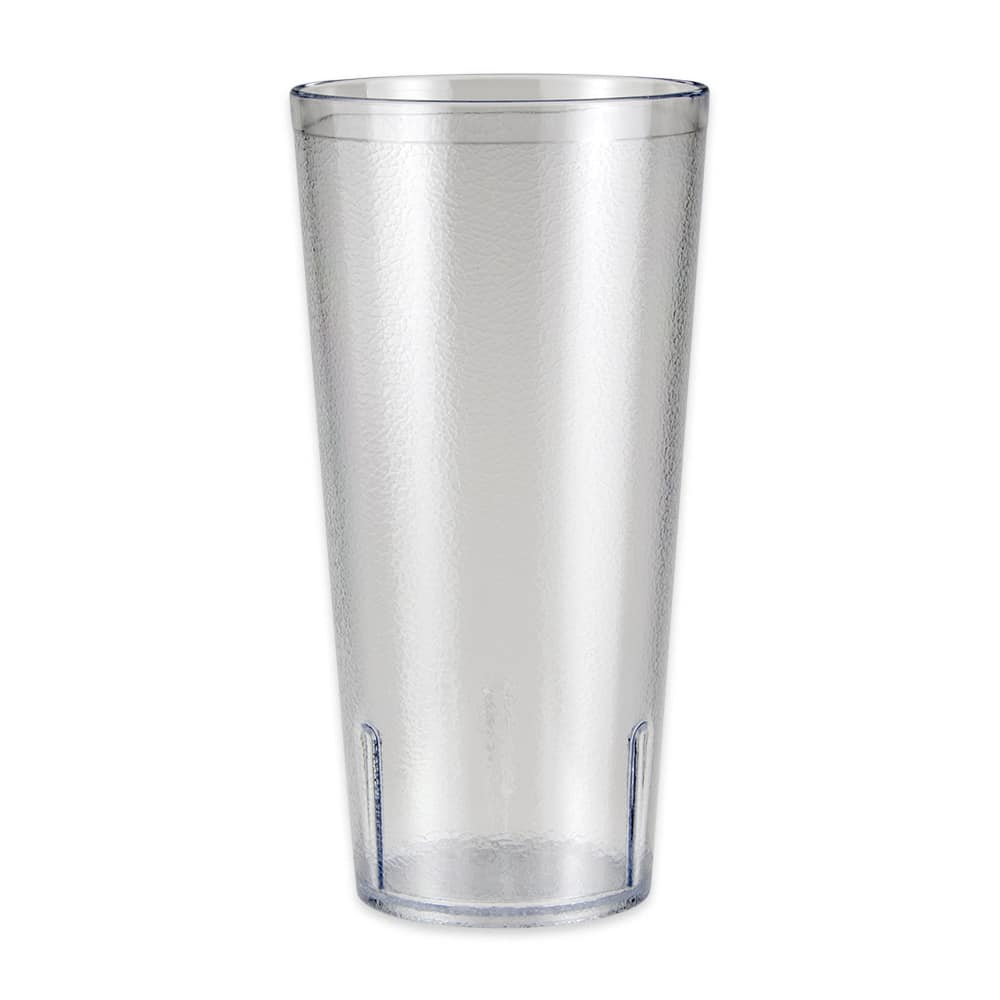 GET 6624-1-6-CL 24-oz Beverage Tumbler, Plastic, Clear
