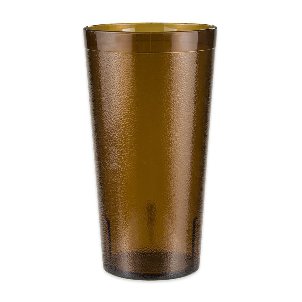 GET 6632-1-4-A 32-oz Beverage Tumbler, Plastic, Amber