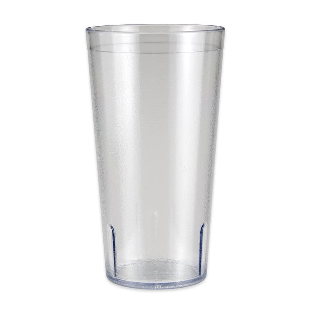 GET 6632-1-4-CL 32 oz Beverage Tumbler, Plastic, Clear