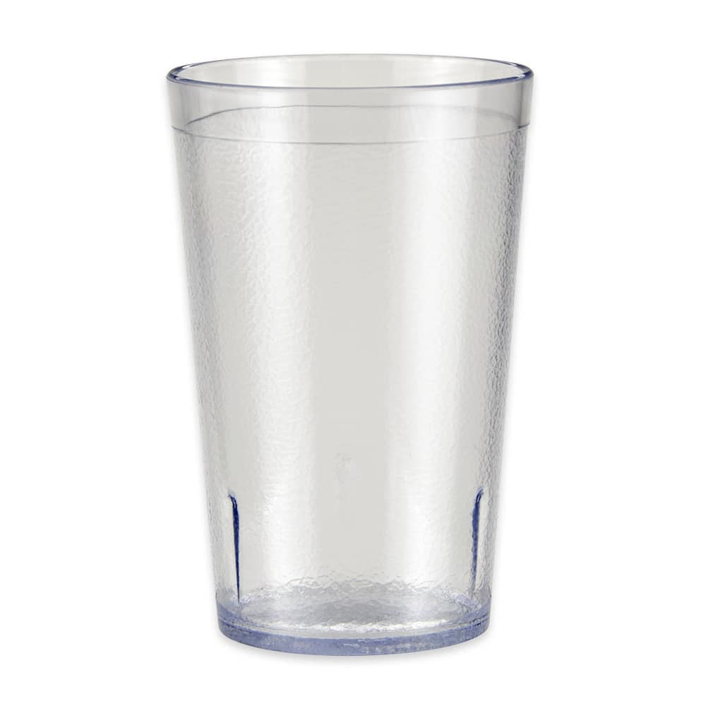 GET 6695-1-6-CL 9.5-oz Beverage Tumbler, Plastic, Clear