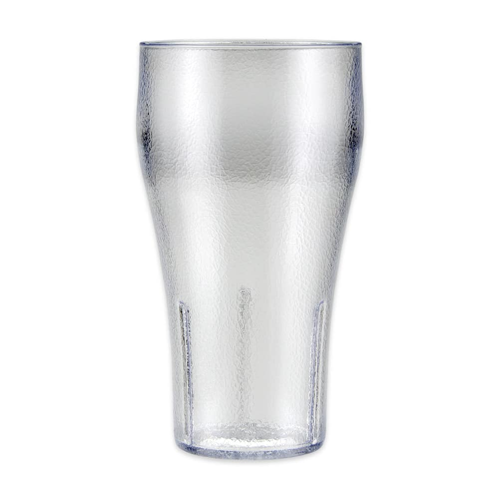 GET 7720-1-CL 20-oz Bell Tumbler, Clear Plastic