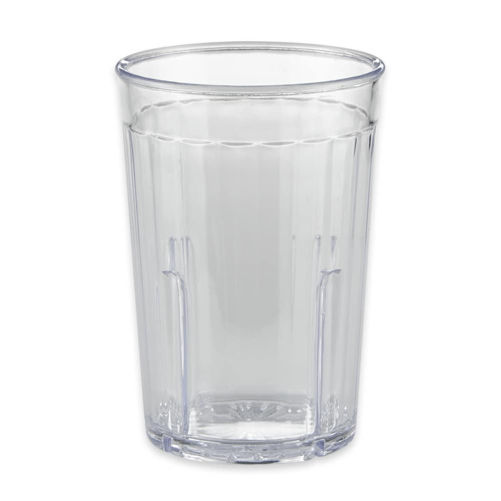 GET 8805-1-CL 5 oz Beverage Tumbler, Plastic, Clear