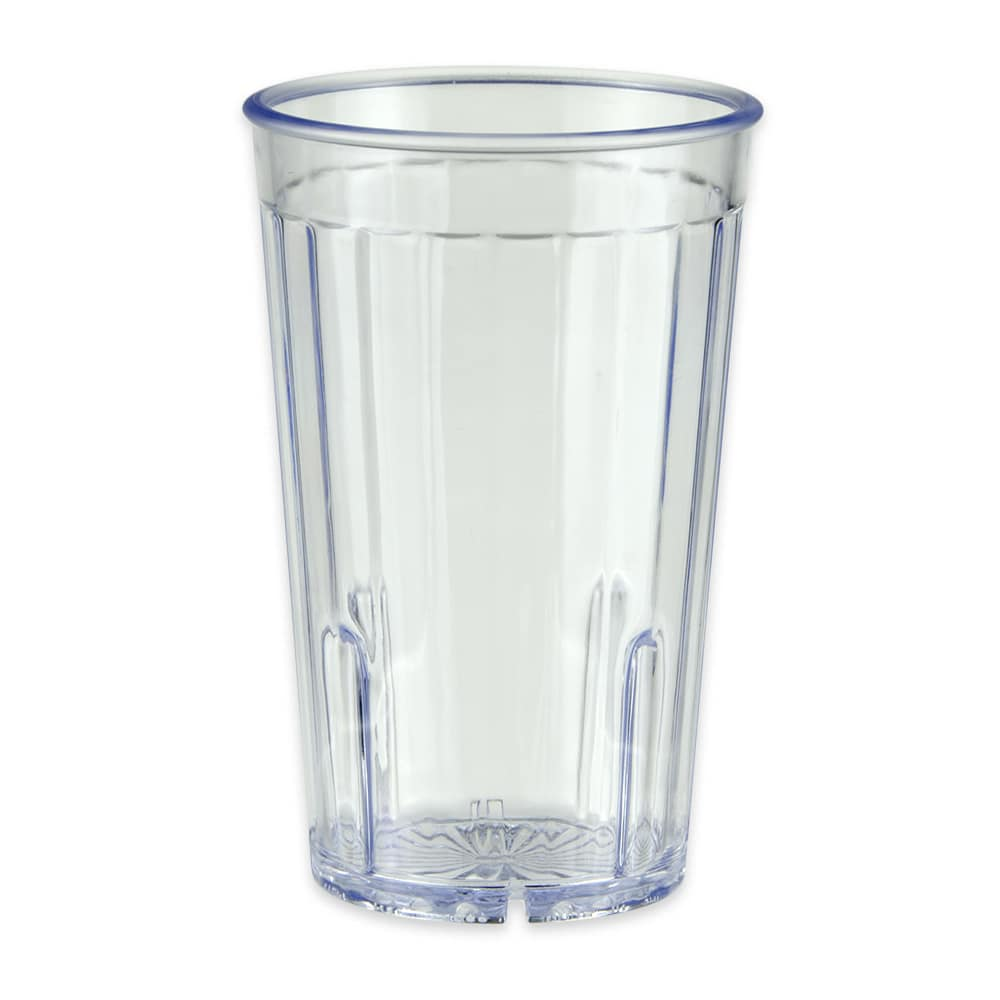 GET 8808-1-CL 8-oz Beverage Tumbler, Plastic, Clear