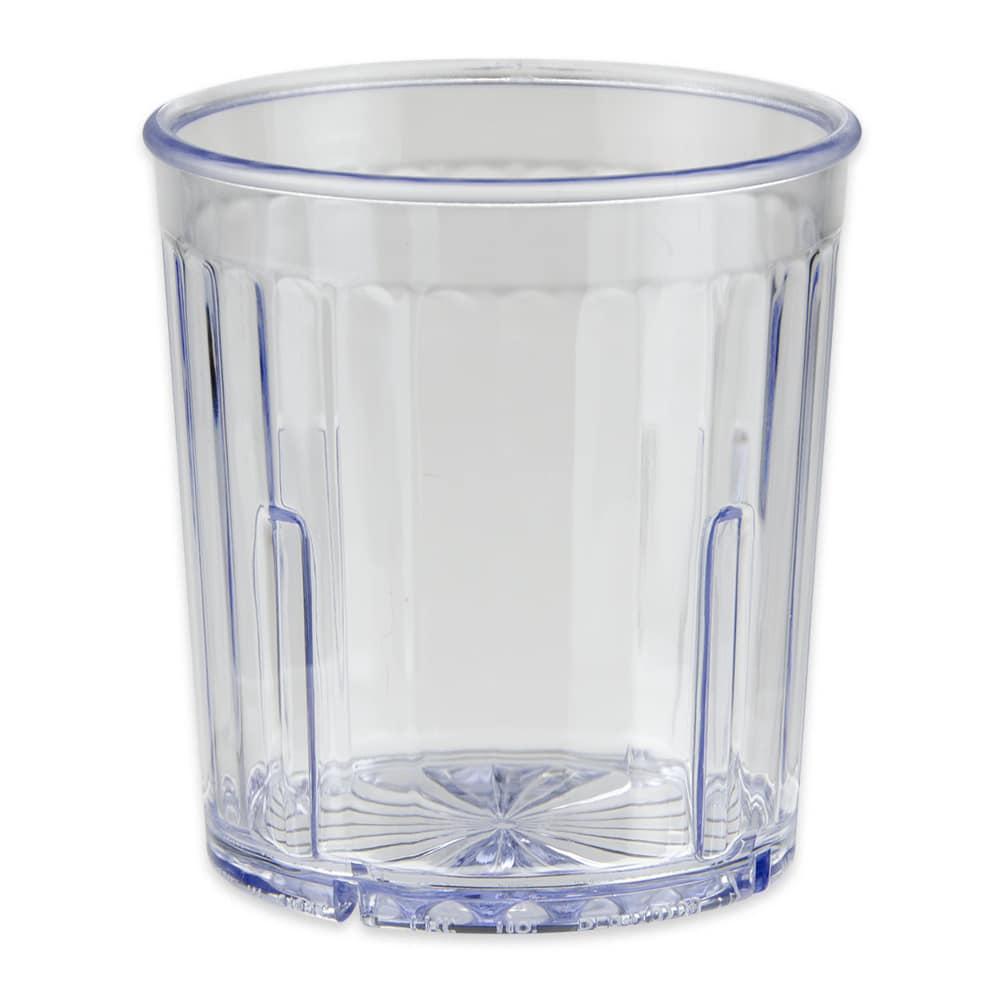 GET 8809-1-CL 9-oz Rocks Glass, Plastic, Clear