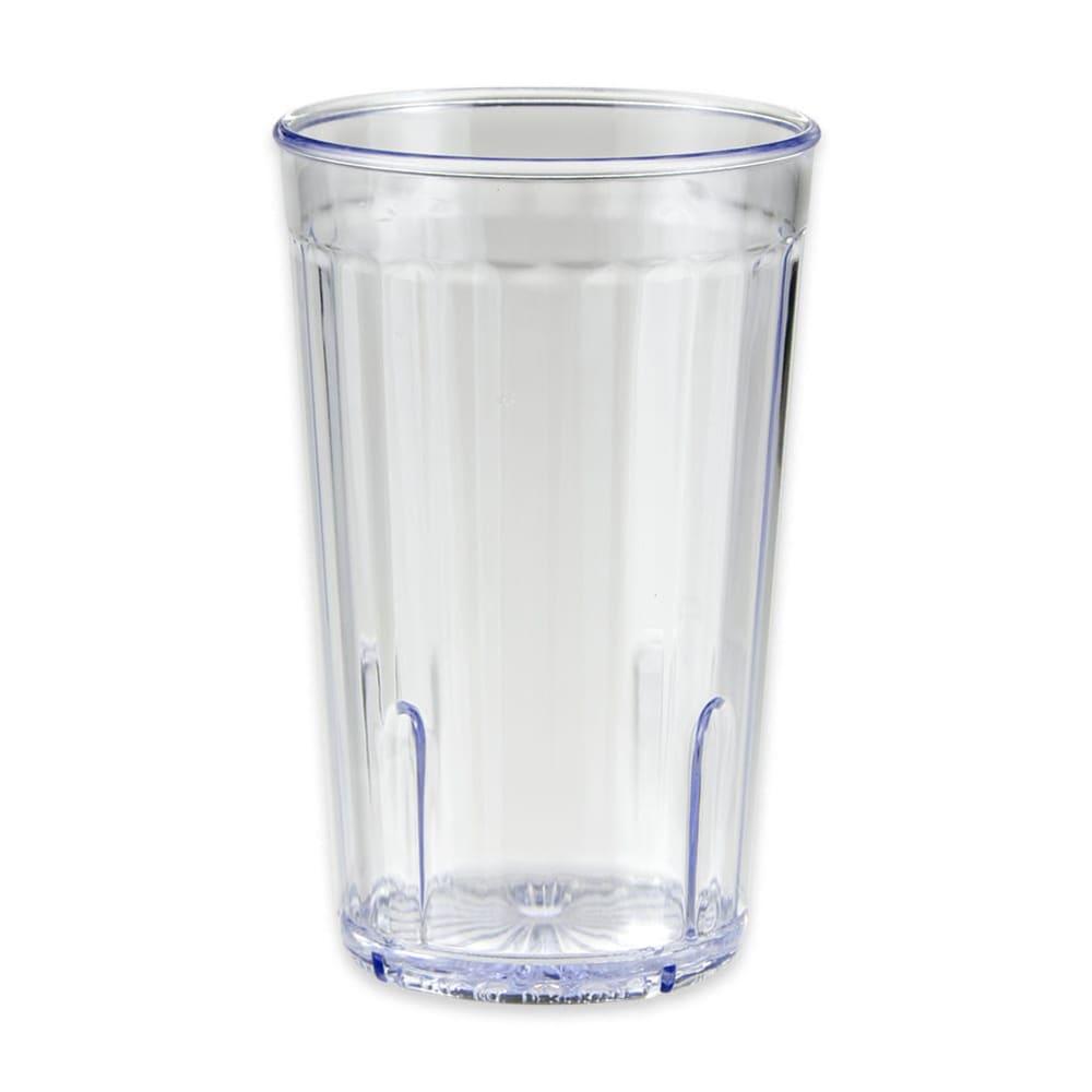 GET 8812-1-CL 12-oz Beverage Tumbler, Clear, Plastic