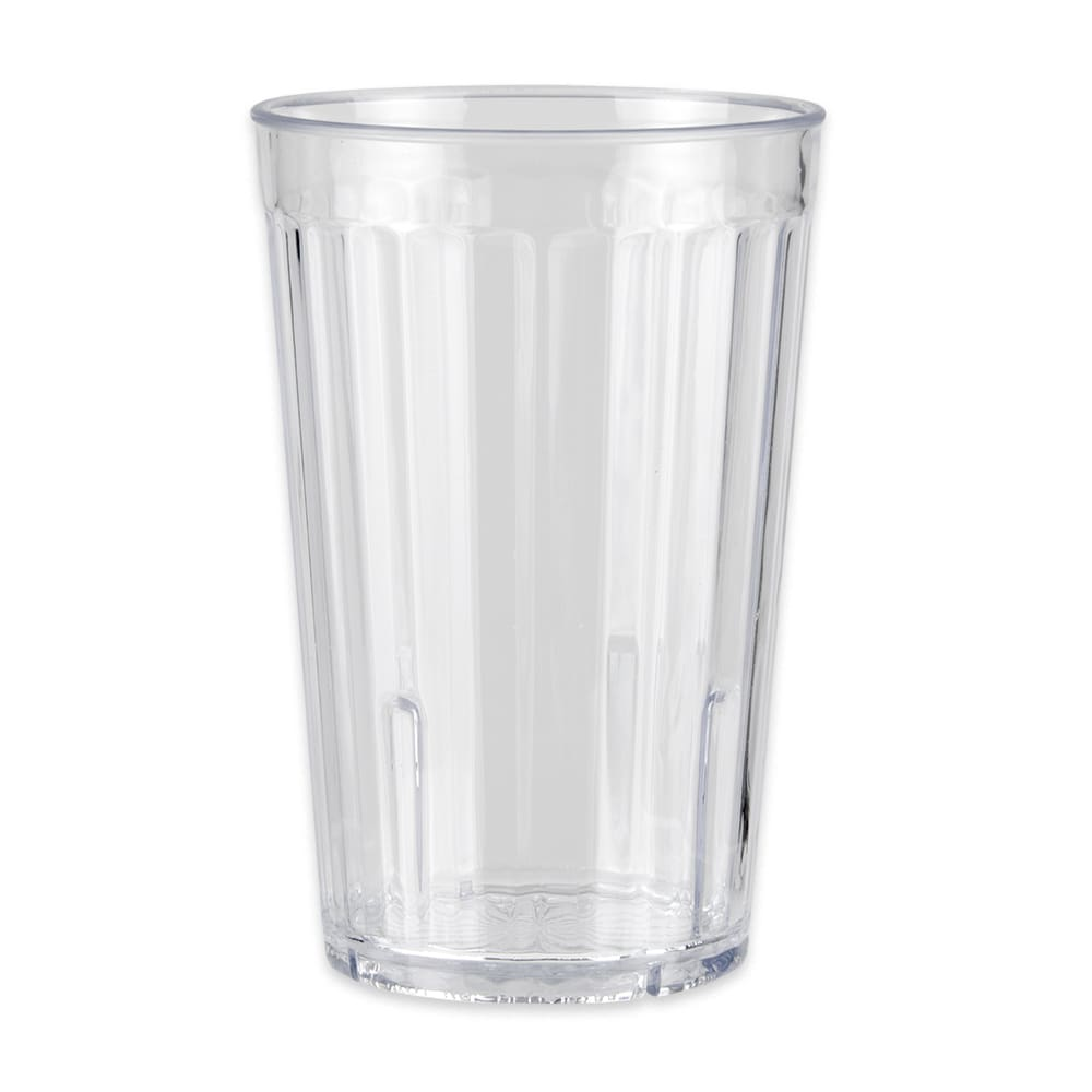 GET 8816-1-CL 16 oz Beverage Tumbler, Clear, Plastic