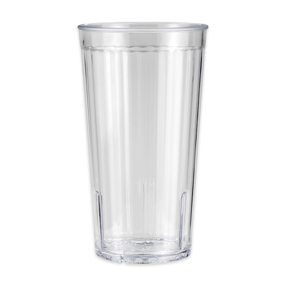 GET 8822-1-CL 22 oz Beverage Tumbler, Clear, Plastic